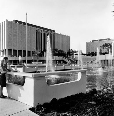 A view of LACMA as it was in the sixties