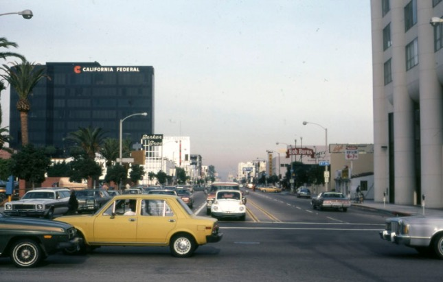 An image of Santa Monica back when it was less crowded and less expensive.