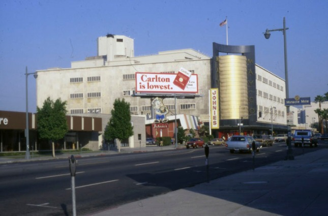 May Company store on Wilshire, photo by Anne Laskey from LAPL archives