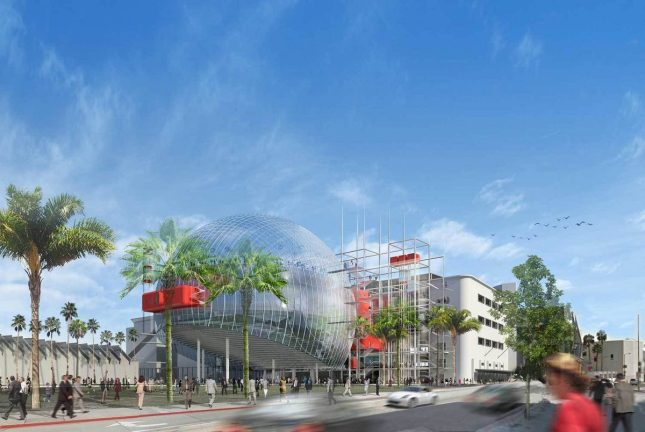 design by Renzo Piano for the proposed Academy museum