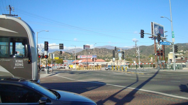 another shot of San Fernando and Sunland