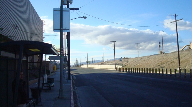 SF F1 Busstop Clouds