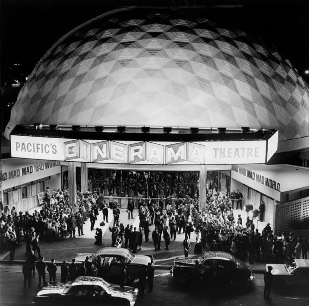The premiere of It's a Mad, Mad, Mad, Mad World at the Dome in 1963.