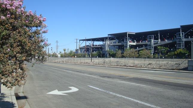 The new Regional Intermodal Transportation Center at Burbank Airport.