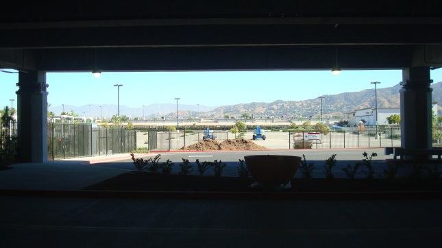 From the RITC, a view of the mountains to the north.