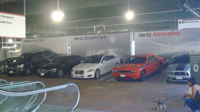 At Hertz, you're not just renting a car, you're renting a fantasy.