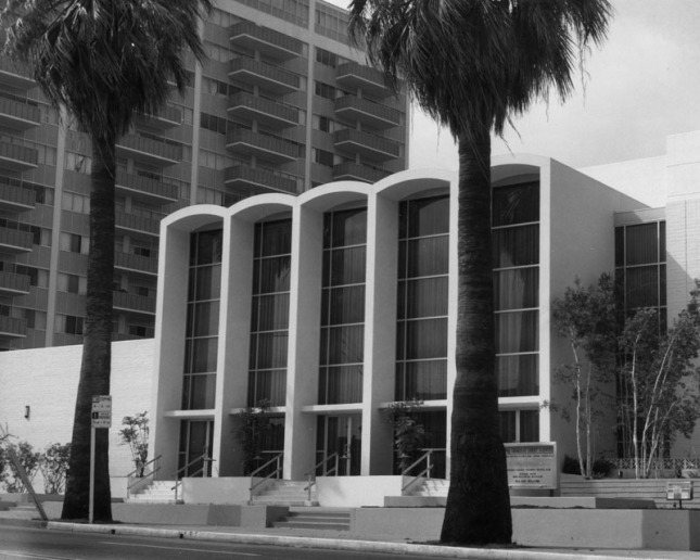 Fifth Church of Christ, Scientist, also from Hollywood Blvd. circa 1977