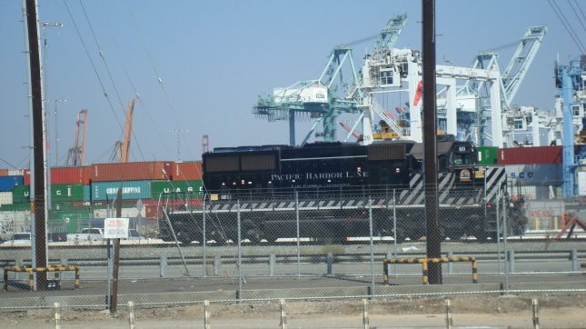 Rail lines carry containers from the Port to destinations throughout the nation.