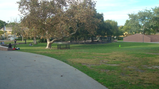 Another view of the park looking toward the west.