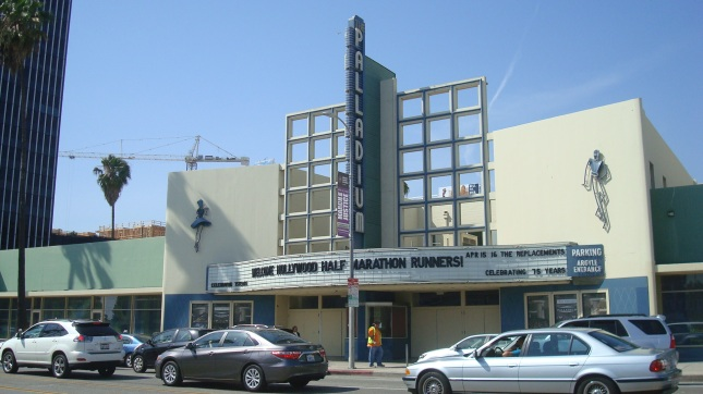 Another view of The Palladium, now with The Camden construction site in the background.