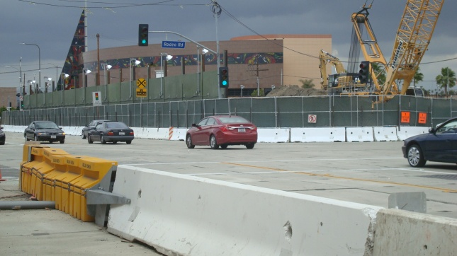 Another shot of the site from Crenshaw and Rodeo