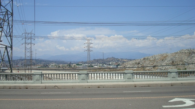 Looking north from the Cesar Chavez Avenue Bridge.