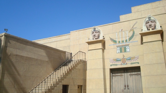 Egyp Pylons Angle