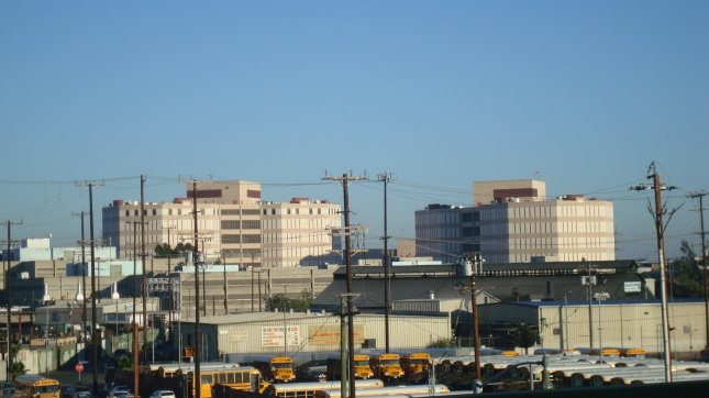 Twin Towers Correctional Facility near Downtown LA
