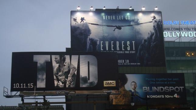 Billboards at Highland and Franklin