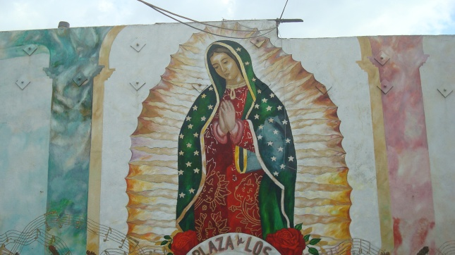 Another view of the mural.