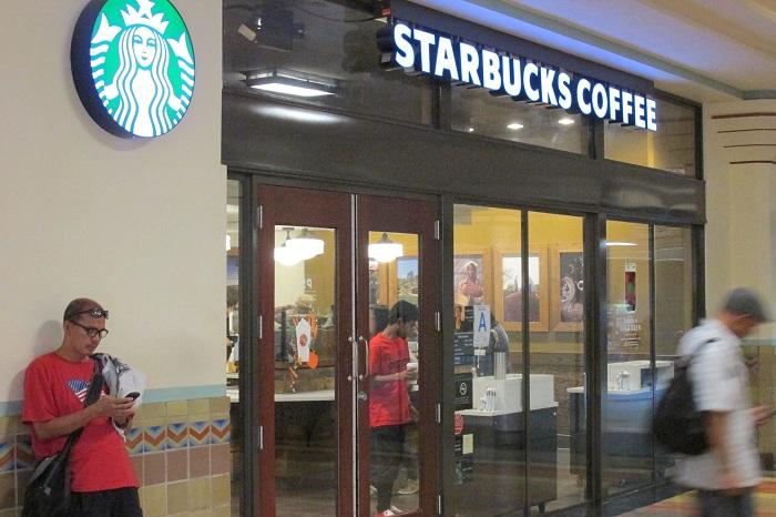 Corporate coffee...