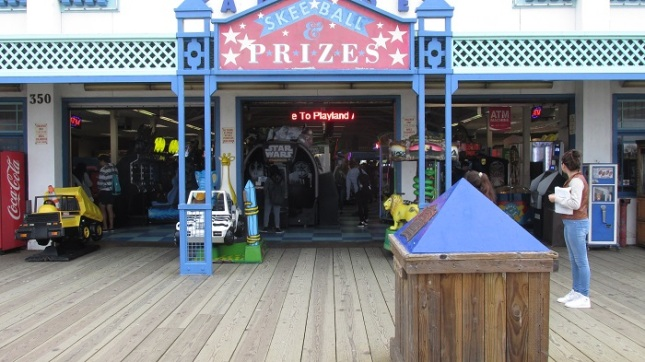 Entrance to Playland.