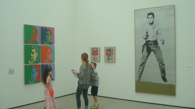 A room full of Warhol.