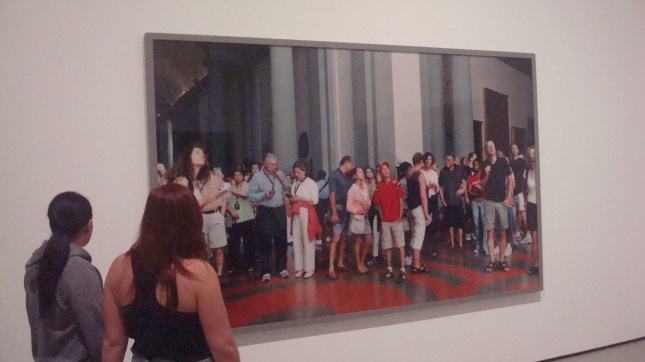 Thomas Struth, Audience II (Galleria dell'Accademia) Florenz