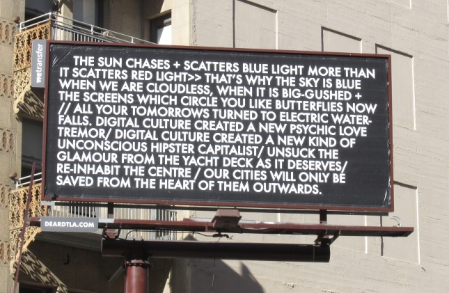 Robert Montgomery, Broadway near Ninth