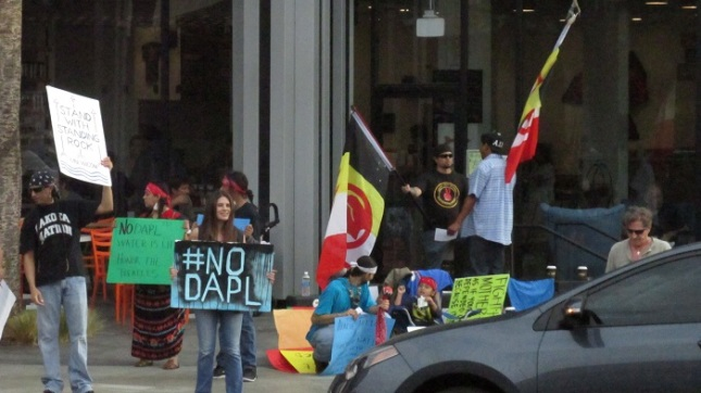 Protesters claim the mainstream media has failed to highlight the risks posed by the DAPL.