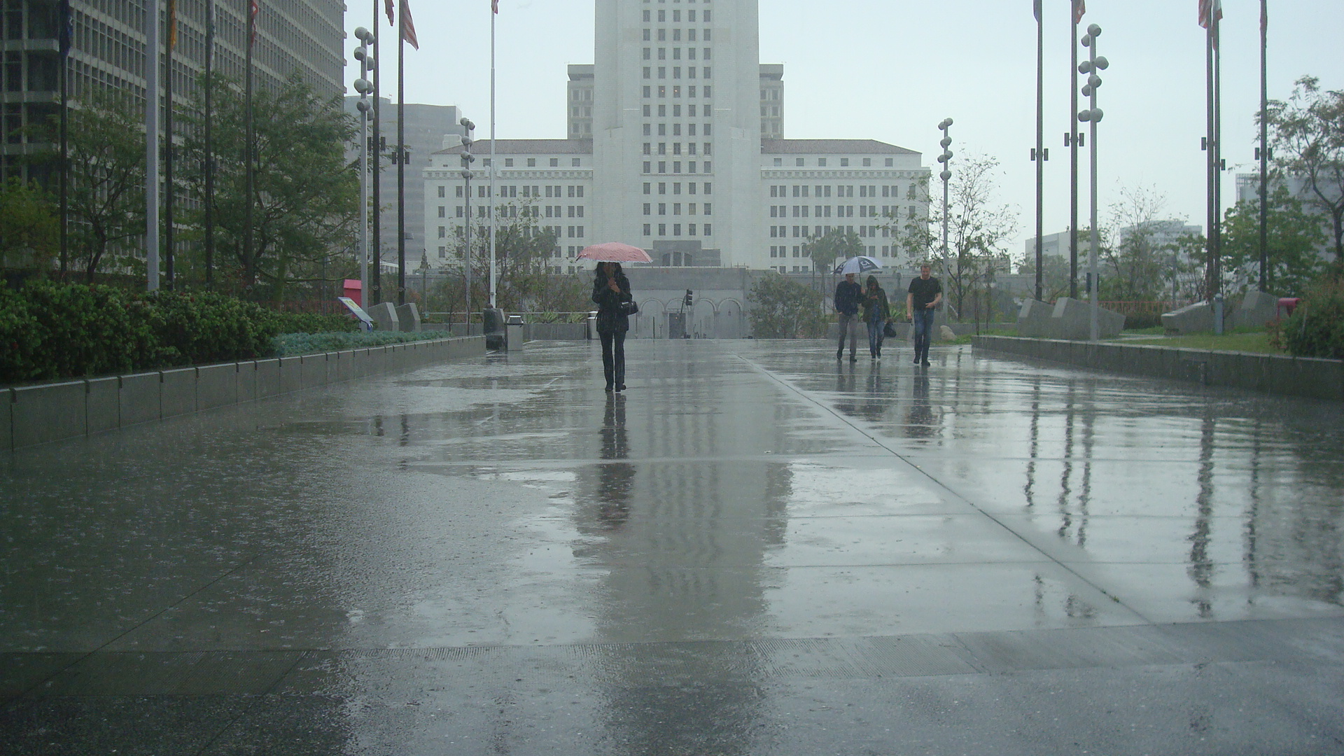 Rain 01 Woman Umb
