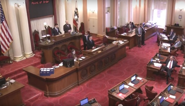 CA Senate Floor