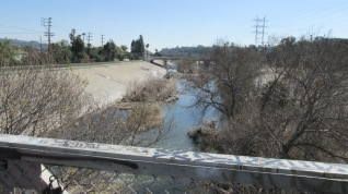 A view of the river from Sunnynook Bridge.