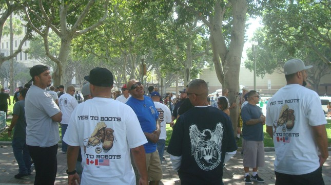 ILWU Crowd T Shirts
