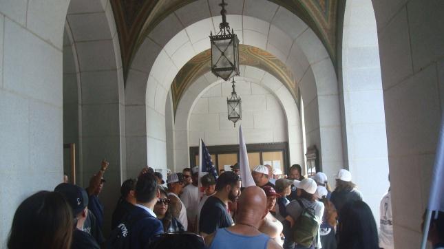 ILWU Entrance Line