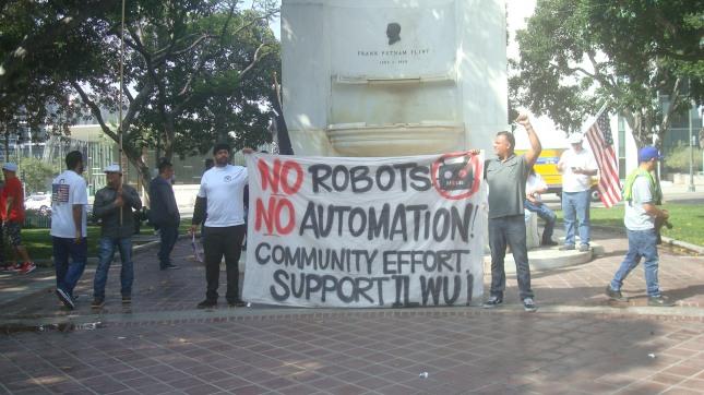 ILWU No Robots