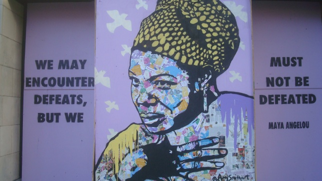 Hlwd Protest Art Angelou