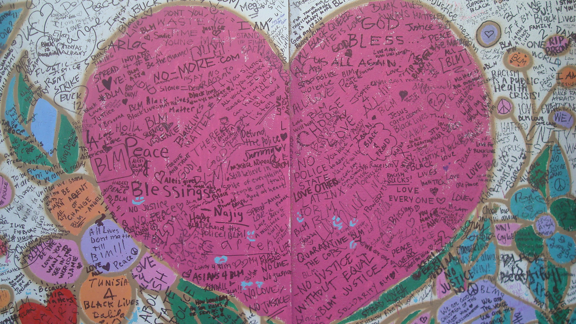 Hlwd Protest Art Heart