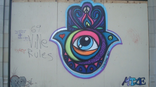 Hlwd Protest Art Psychedelic Eye