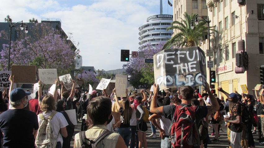 Hlwd Protest GF 20 Defund SM